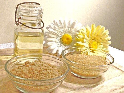 Cách tẩy da chết cho mặt từ thiên nhiên từ dầu oliu và đường