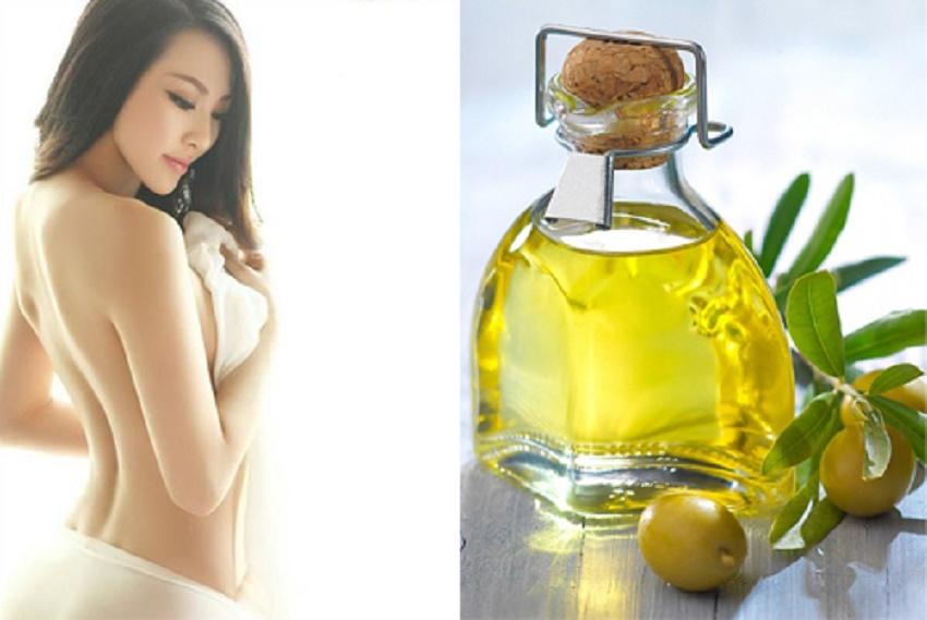 Kem dưỡng da từ dầu oliu