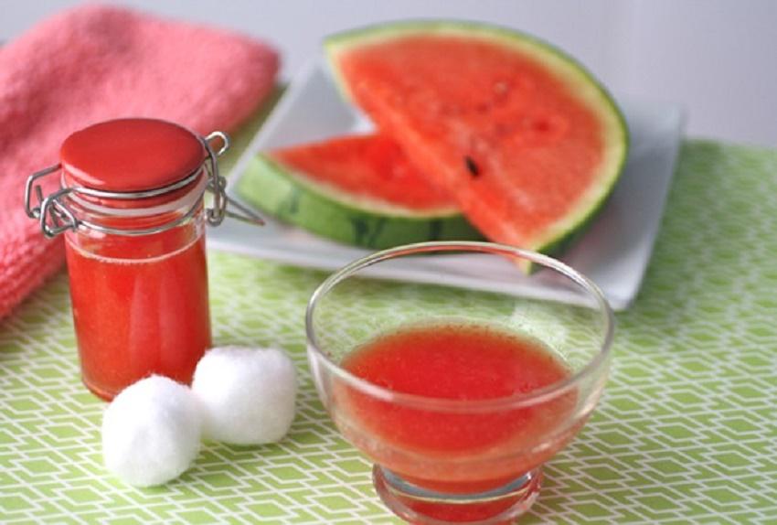 Nước ép dưa hấu và sữa chua