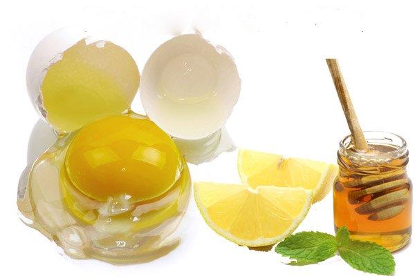 Làm đẹp da từ mật ong, chanh tươi và trứng gà