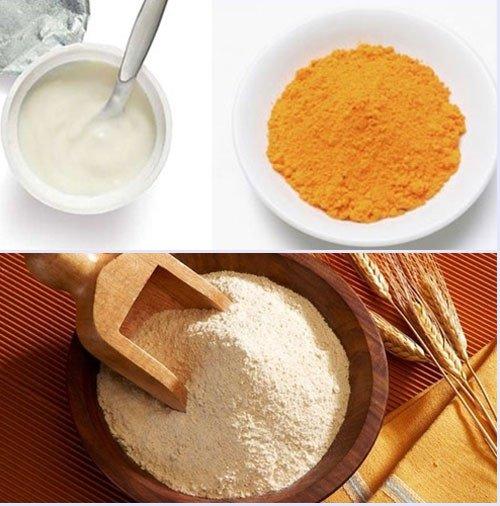 Dưỡng trắng da bằng cám gạo
