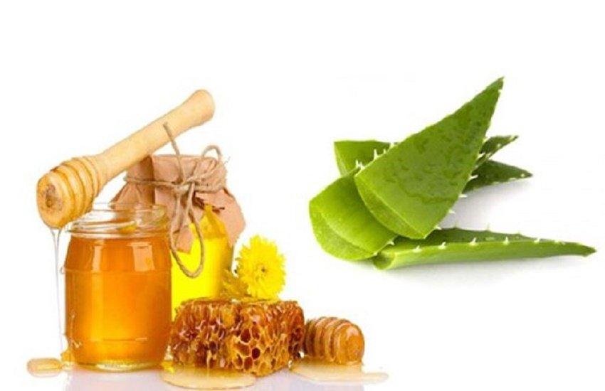 Tự làm kem dưỡng trắng da mặt với nha đam + mật ong