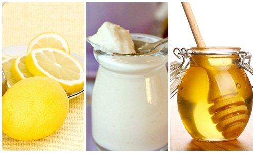 Phương pháp trị mụn bọc bằng mật ong, chanh và sữa chua
