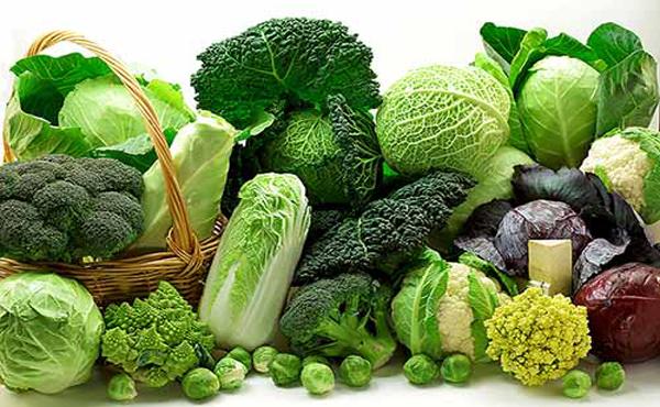 Rau xanh ngăn ngừa sự thiếu hụt collagen