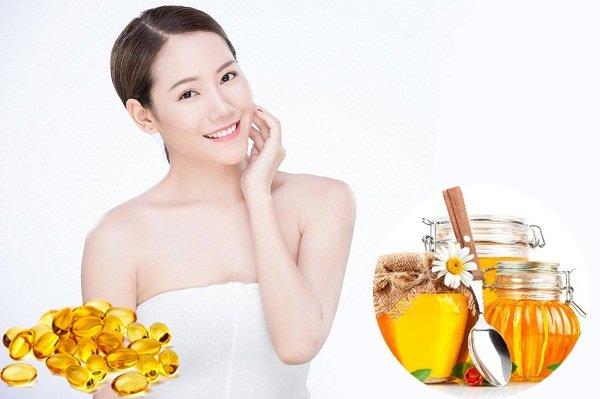Mặt nạ Vitamin E và mật ong
