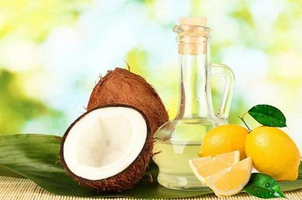 Cách làm đẹp da mặt với dầu dừa và chanh
