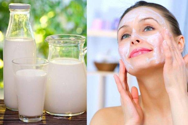 Dưỡng ẩm da khô với sữa tươi không đường