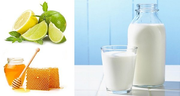 Làm trắng da toàn thân với sữa tươi và chanh