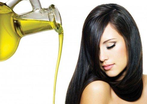Kết quả hình ảnh cho dầu oliu cho tóc