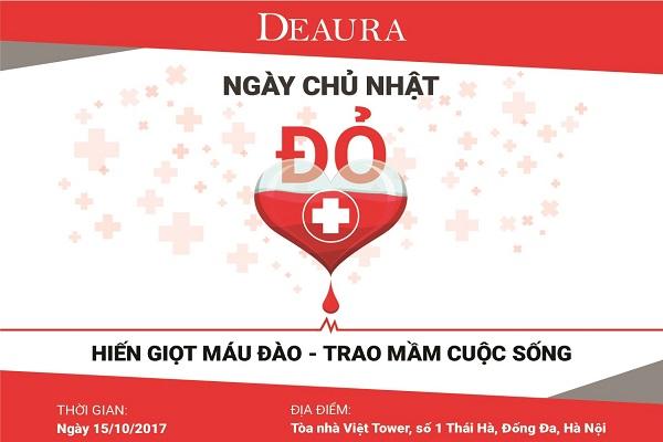 Hàng trăm nhân viên Venesa tham gia hiến máu Ngày chủ nhật đỏ