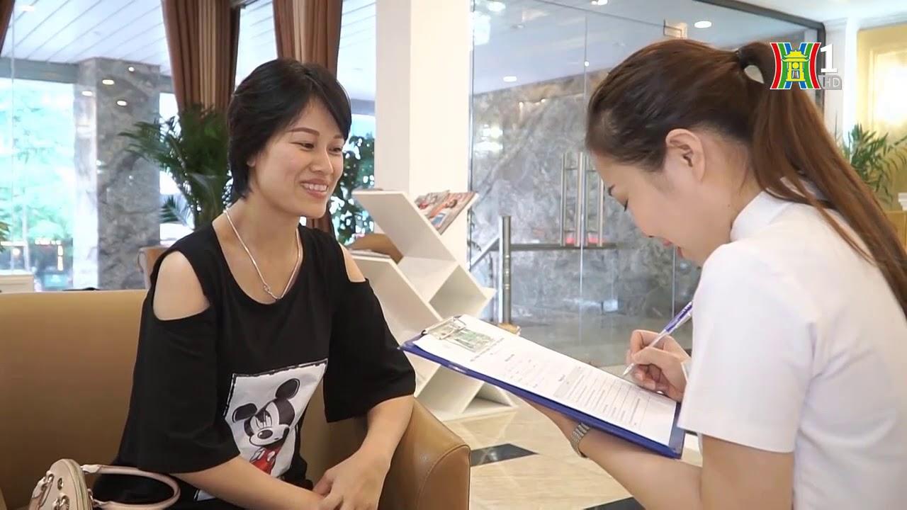 Venesa đã đi tiên phong trong việc áp dụng hình thức mua mỹ phẩm trả góp (Truyền hình Hà Nội)