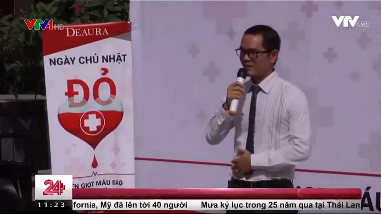 """Chuyển động 24h đưa tin về """"Ngày chủ nhật đỏ"""" – Ngày hội hiến máu của Venesa"""