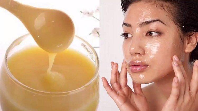 Kết quả hình ảnh cho đắp mặt nạ sữa ong chúa tươi