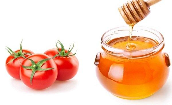 Mặt nạ cà chua và mật ong