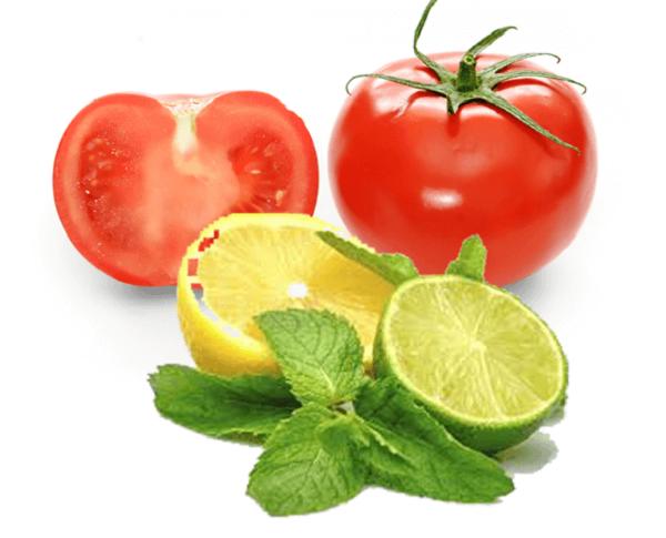 Mặt nạ cà chua kết hợp chanh