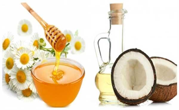 Mặt nạ mật ong và dầu dừa