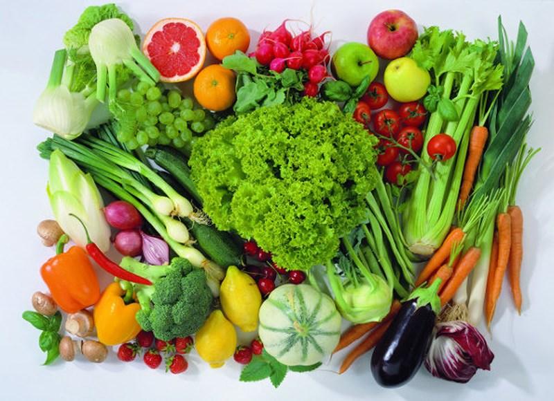 Rau xanh-thực phẩm giúp trẻ lâu