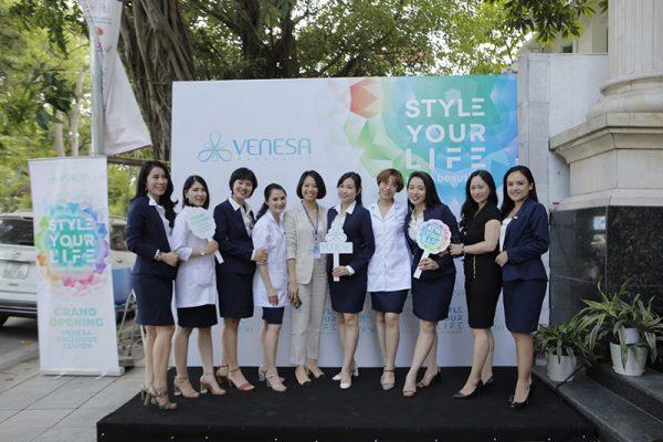 Venesa chính thức khai trương trung tâm Wellness đầu tiên tại Việt Nam