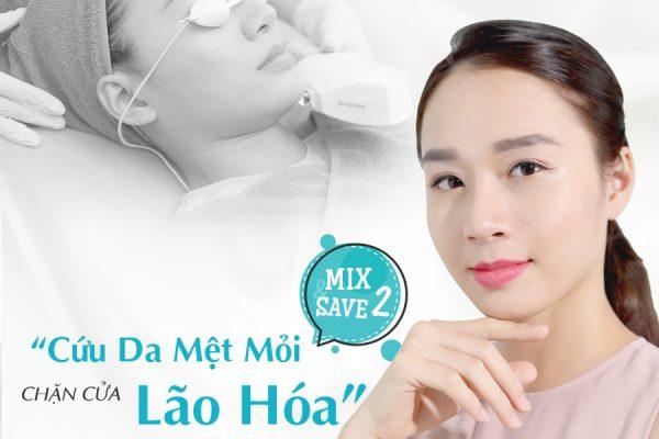 """MIX&SAVE 2 – Liệu trình """"nghỉ dưỡng"""" trọn vẹn cho làn da mệt mỏi"""